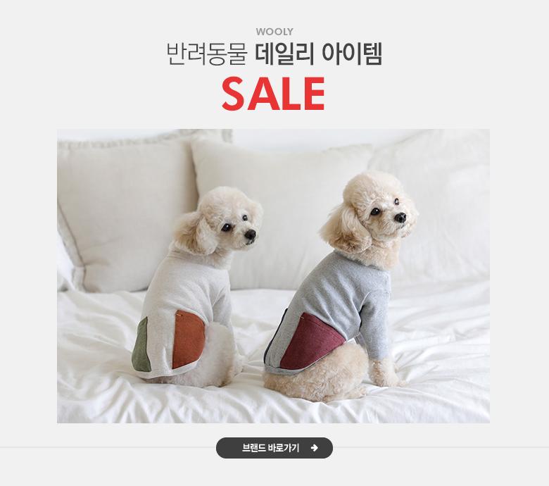 반려동물 데일리 아이템, 울리 SALE
