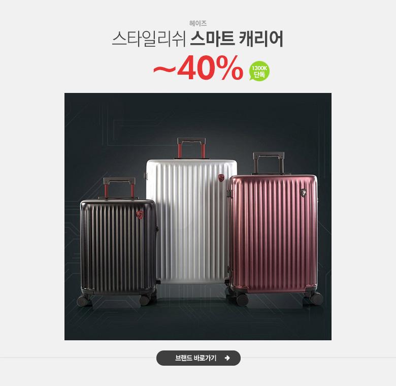 스타일리쉬 스마트 캐리어, 헤이즈 단독~40%