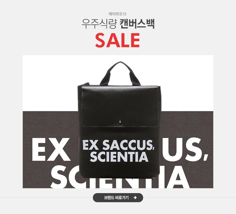 우주식량 캔버스백 에이피오13 sale