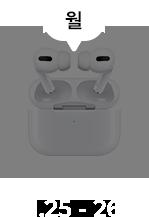 1.25 ~ 1.26 / 애플 에어팟 프로 대기